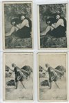 Great Lot of (10) Mack Sennett Mutoscope Cards