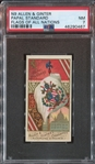 N9 Allen & Ginter Flags of All Nations Papal Standard PSA7 NM