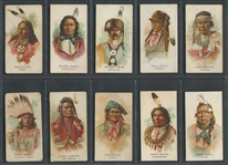 N2 Allen & Ginter Indians Lot of (27) Cards